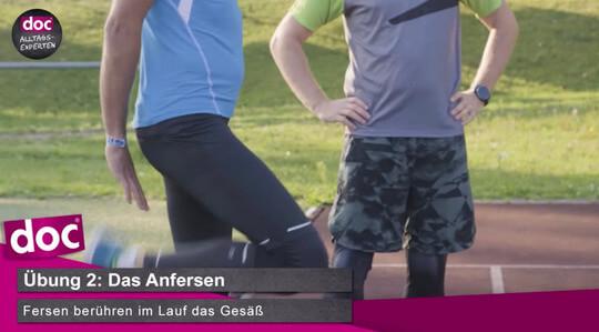 Lauf-ABC – Das Anfersen