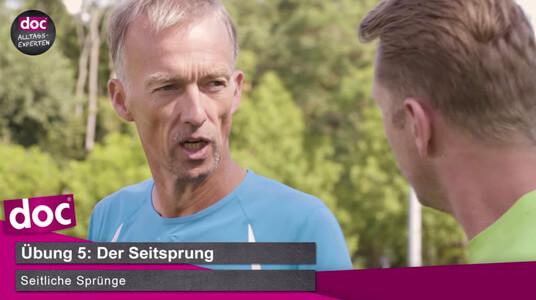 Lauf-ABC – Der Seitsprung