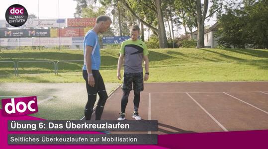 Lauf-ABC – Das Überkreuzlaufen
