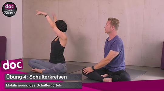 Yoga Morgenroutine – Schulterkreisen