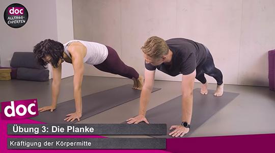 Yoga für Anfänger – Die Planke